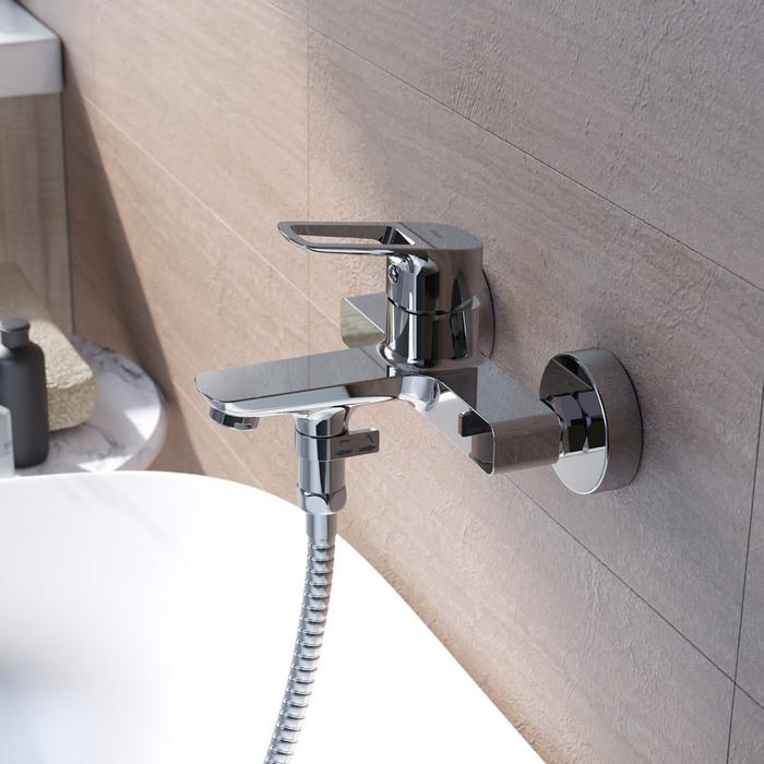 Фото Смеситель для ванны, Spin, IDDIS, SPISB02i02WA 2
