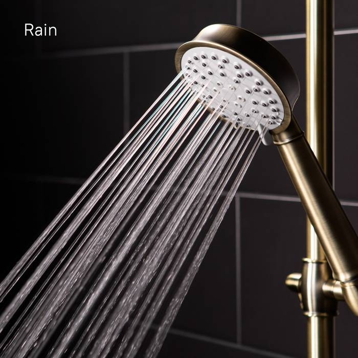 Фото Смеситель для ванны с верхним душем, IDDIS Oldie OLDBR3Fi06 5