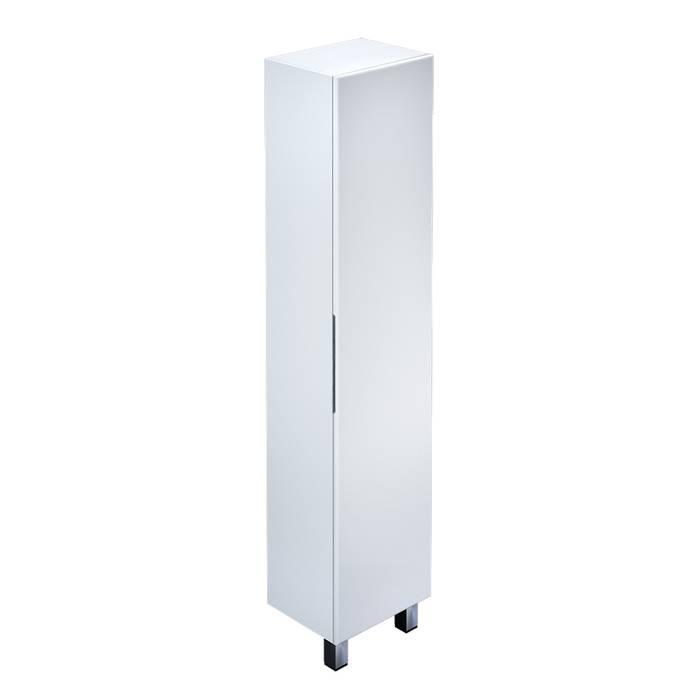 Фото Пенал для ванной комнаты, напольный, 40 см, IDDIS Custo CUS40W0i97, белый 0