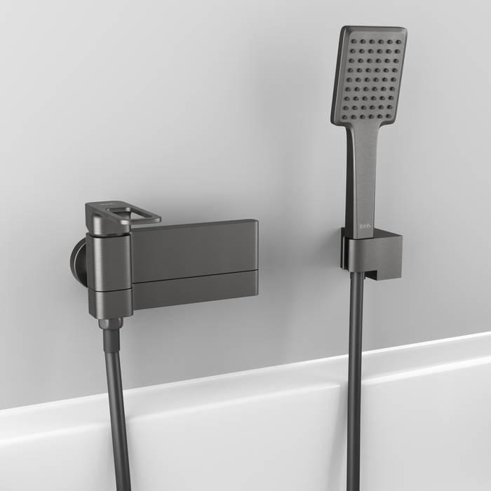 Фото Смеситель для ванны IDDIS Slide SLIGM00i02, графит 1