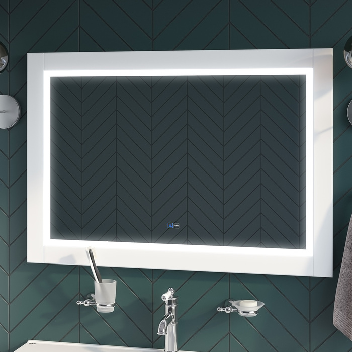 Фото Зеркало с подсветкой, 100 см, Oxford, IDDIS, ЗЛП112 1