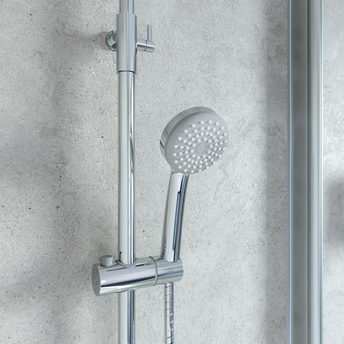 Фото Cмеситель термостатический с верхним душем, IDDIS Torr TORSBBTi06 6
