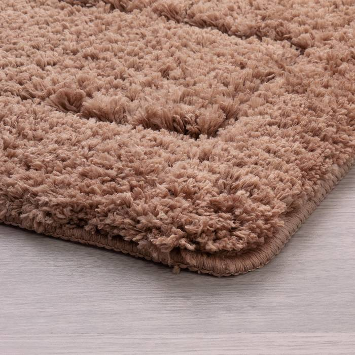 Фото Набор ковриков для ванной комнаты, 60х90 + 50х50 см, микрофибра, IDDIS Basic 242M590i13 2