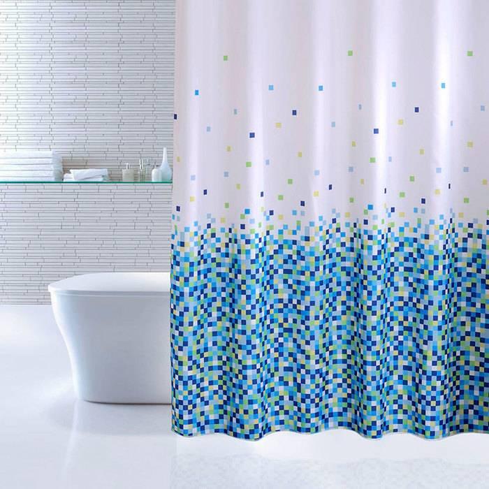 Фото Штора для ванной комнаты, 180x200 см, полиэстер, IDDIS 600P18Ri11 0