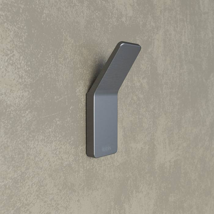 Фото Крючок одинарный сплав металлов, IDDIS Slide SLIGM10i41, графит 1