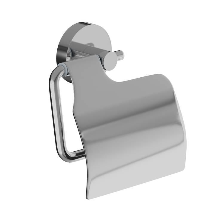 Фото Держатель для туалетной бумаги с крышкой, сплав металлов, IDDIS Sena SENSSC0i43, глянцевый хром 0
