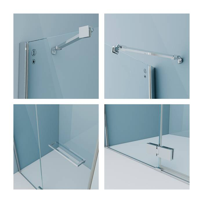 Фото Душевая дверь IDDIS Slide SLI6CH2i69 1
