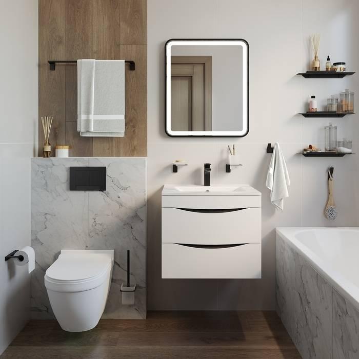 Фото Держатель для туалетной бумаги без крышки, сплав металлов, IDDIS Slide SLIBS00i43 3