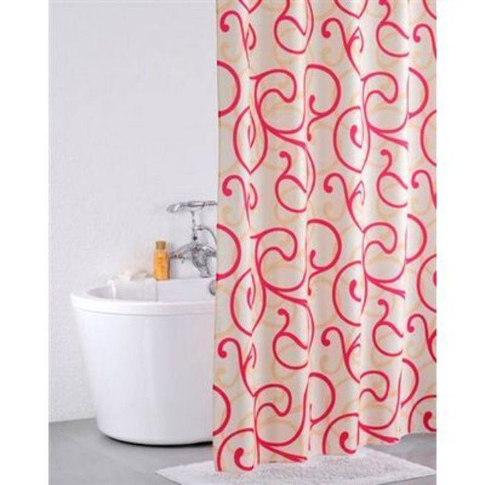 Фото Штора для ванной комнаты, 200x200 см, полиэстер, IDDIS 411P20Ri11 0
