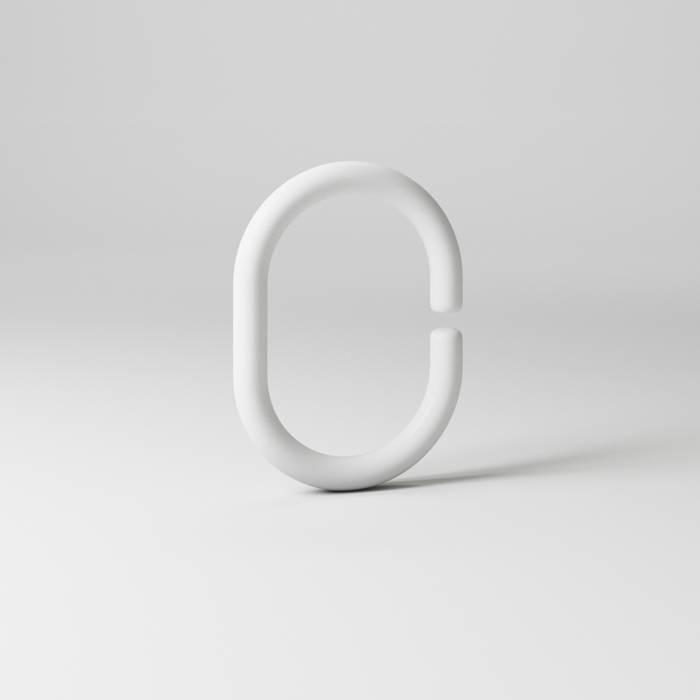 Фото Набор колец для шторы в ванную комнату, IDDIS Rings RID011P 1