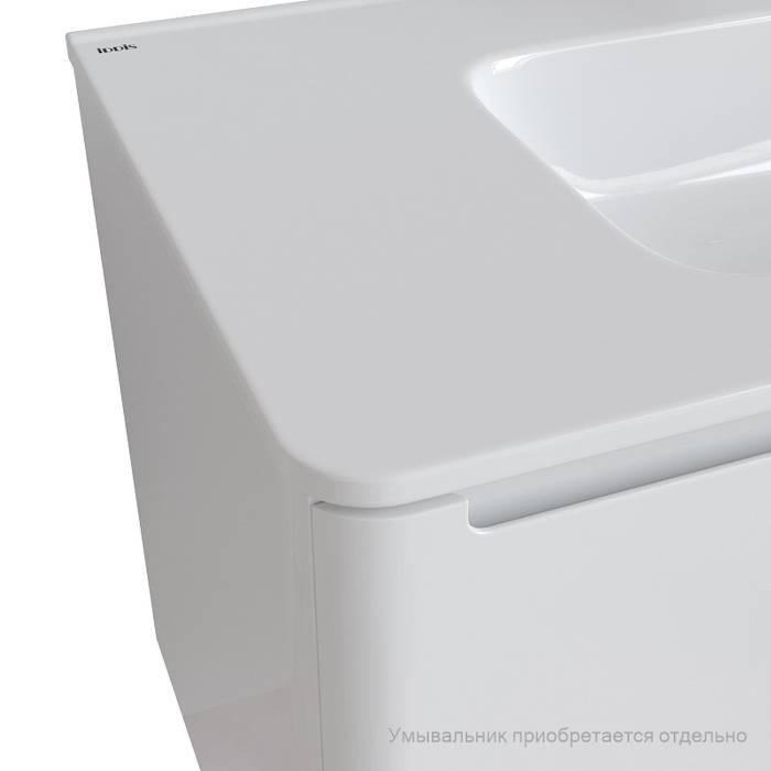 Фото Тумба подвесная 100 см, подходит умывальник 0101000i28 IDDIS Edifice EDI10W1i95, белый 2