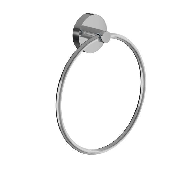 Фото Полотенцедержатель кольцо, сплав металлов, IDDIS Sena SENSSO0i51, глянцевый хром 0
