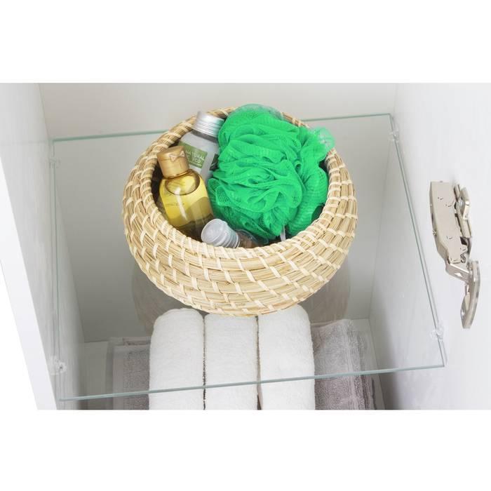 Фото Пенал для ванной комнаты, подвесной, 36 см, IDDIS Rise RIS36W0i97, белый 4