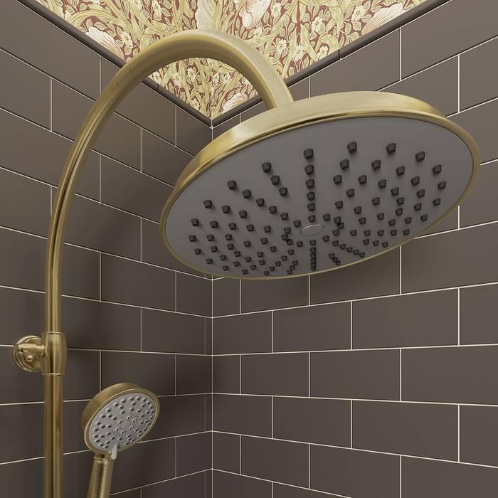 Фото Смеситель для ванны с верхним душем, IDDIS Oldie OLDBR3Fi06 3
