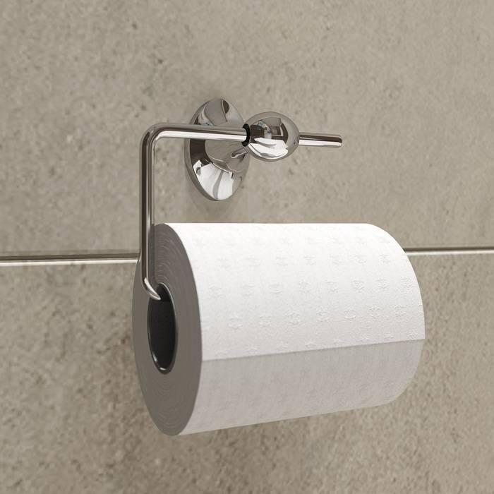 Фото Держатель для туалетной бумаги без крышки, сплав металлов, IDDIS Male MALSS00i43 1