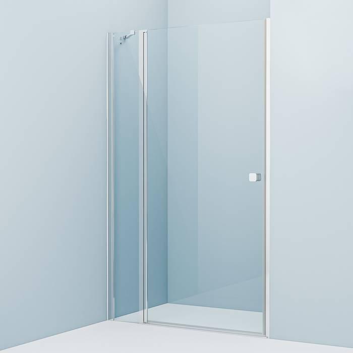 Фото Душевая дверь распашная, глянцевый алюминиевый профиль 120х195, IDDIS Ray RAY6CP2i69 0