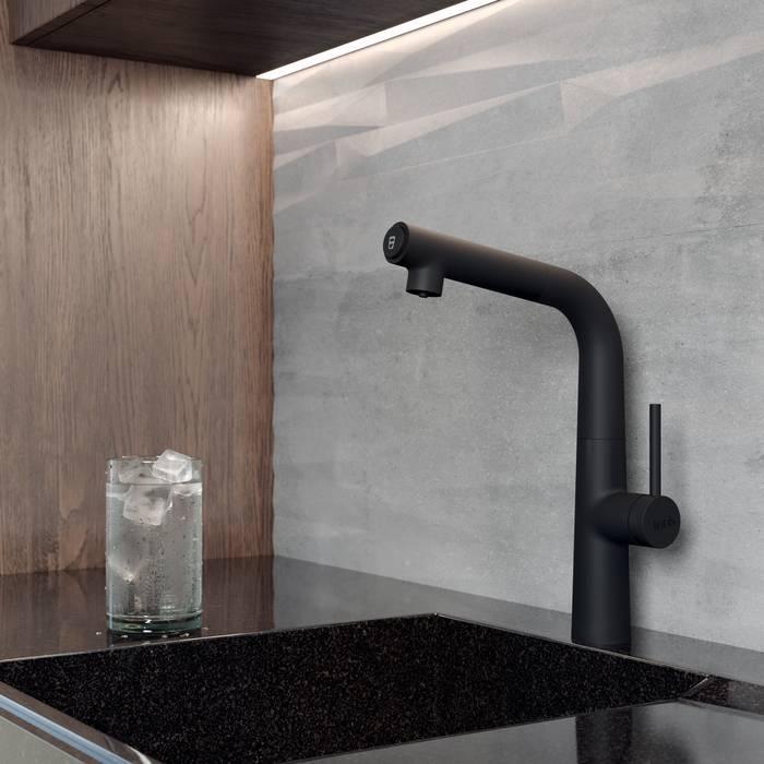 Фото Смеситель для кухни с каналом для фильтрованной воды, IDDIS Pure PURBLFBi05, черный 1