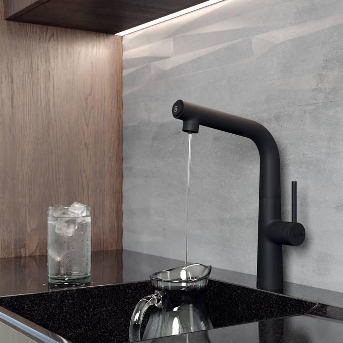 Фото Смеситель для кухни с каналом для фильтрованной воды, IDDIS Pure PURBLFBi05, черный 2