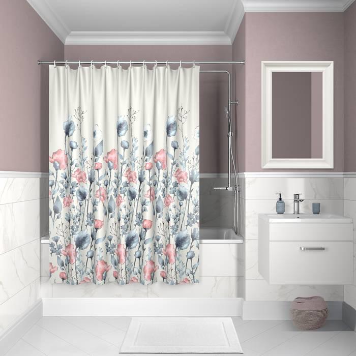 Фото Штора для ванной комнаты, 200x180 см полиэстер, IDDIS Décor D11P218i11 0