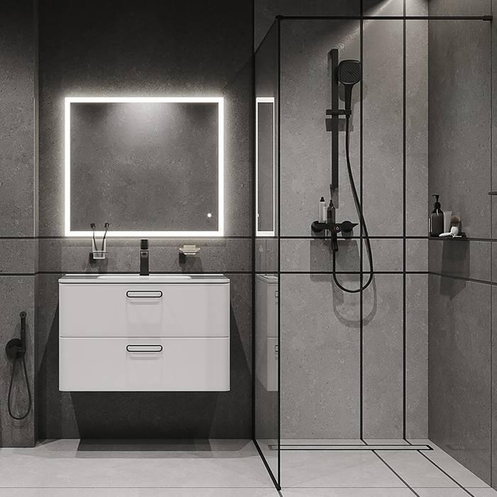 Фото Смеситель для ванны с управлением IDDIS Shelfy SHEBLBTi02WA, черный матовый 3