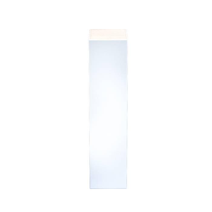 Фото Пенал для ванной комнаты, подвесной, 40 см, IDDIS Mirro MIR4000i97, белый 1