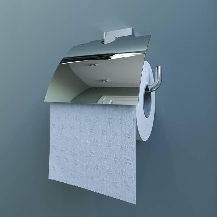 Фото Держатель для туалетной бумаги с крышкой, латунь, IDDIS Edifice EDISBC0i43 1