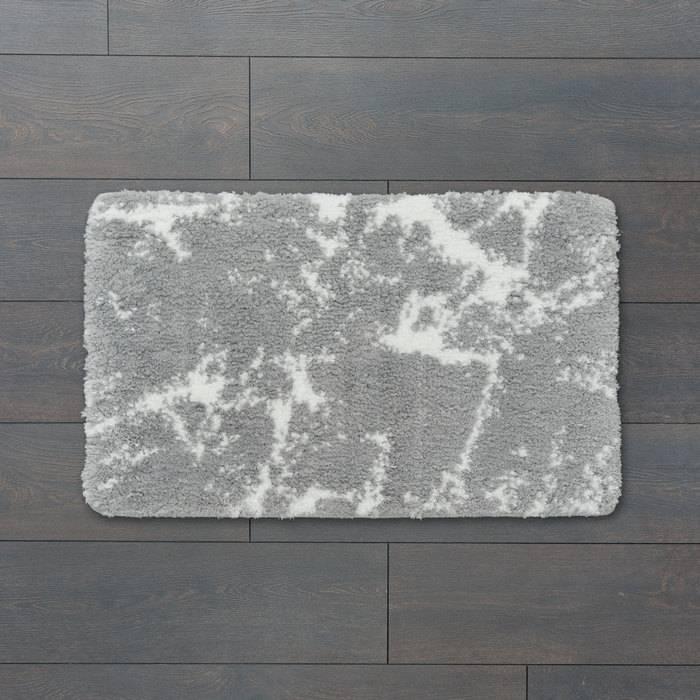 Фото Коврик для ванной комнаты, 50x80 см, микрофибра, IDDIS Décor D02M580i12 1