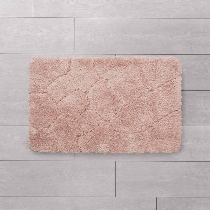 Фото Коврик для ванной комнаты, 50x80 см, микрофибра, IDDIS Basic MID200M 1