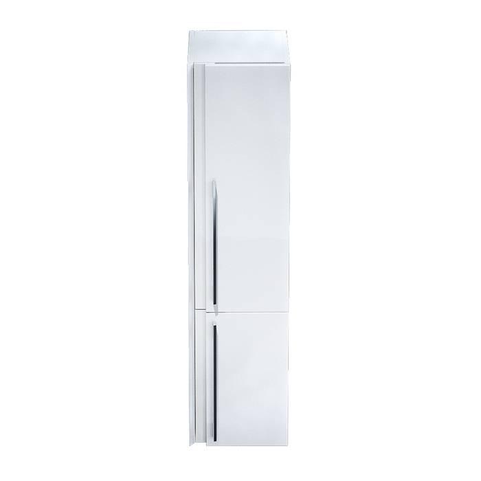 Фото Пенал для ванной комнаты, подвесной, 36 см, IDDIS Color Plus COL3600i97, белый 1