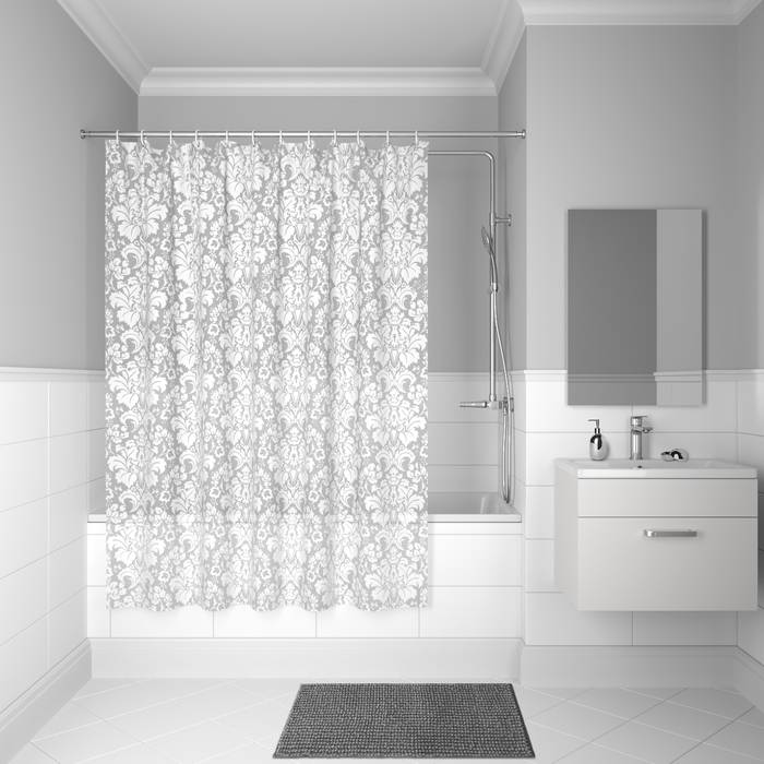 Фото Штора для ванной комнаты, 180x180 см PEVA, IDDIS Promo P53PV11i11 0