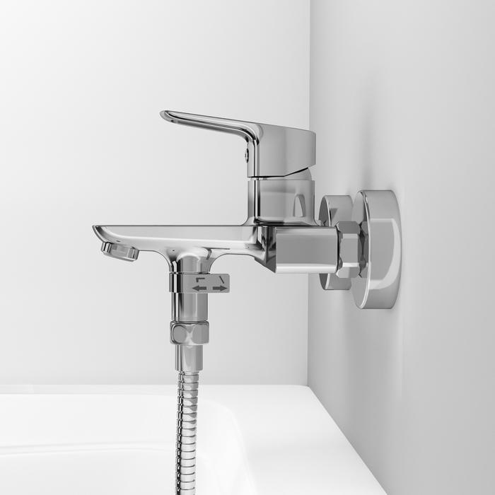 Фото Смеситель для ванны, Spin, IDDIS, SPISB02i02WA 6
