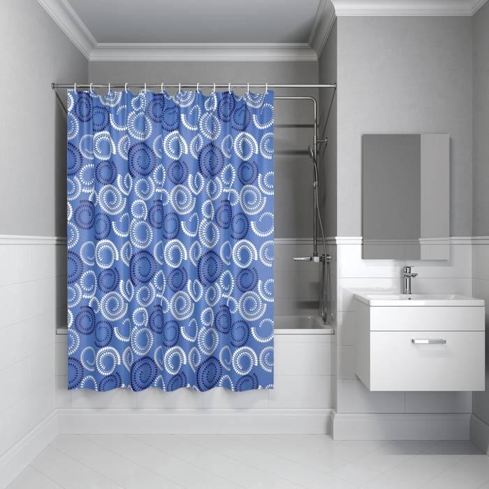 Фото Штора для ванной комнаты, 200x180 см полиэстер, IDDIS Basic B60P218i11 0