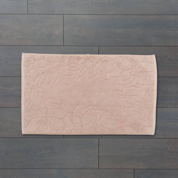 Фото Коврик для ванной комнаты, 50x80 см, хлопок, IDDIS Décor D09C580i12 1