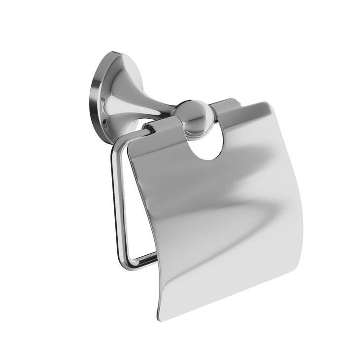 Фото Держатель для туалетной бумаги с крышкой, сплав металлов, IDDIS Male MALSSC0i43, глянцевый хром 0