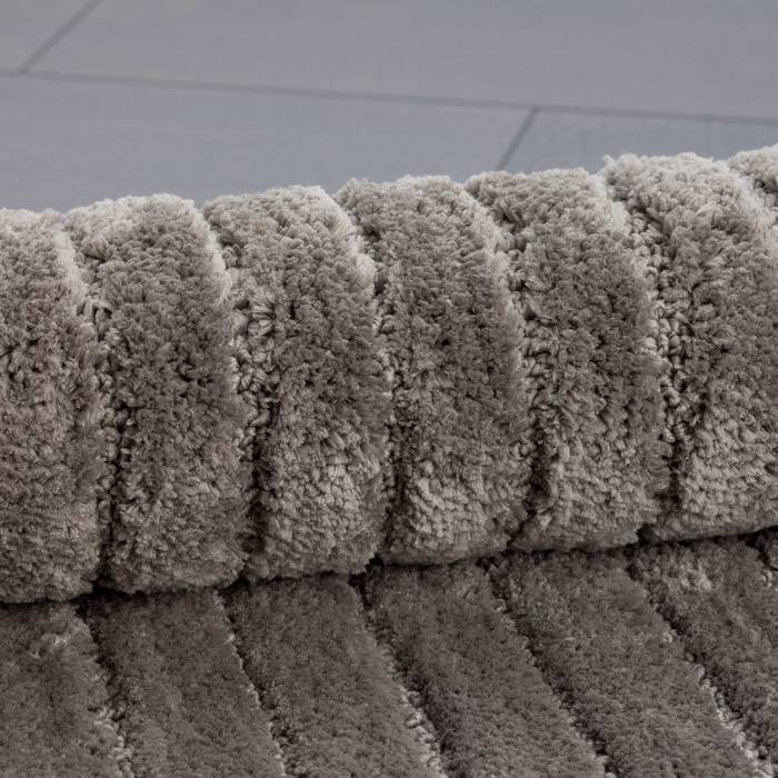 Фото Набор ковриков для ванной комнаты, 55x85 + 50x50 см, микрофибра, IDDIS Basic B17M585i12 4