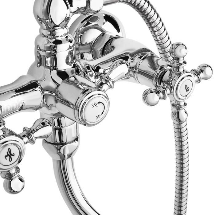 Фото Смеситель для ванны с длинным изливом с керамическим дивертором, IDDIS Sam SAMSBL2i10 4