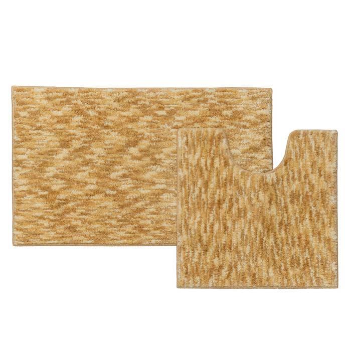 Фото Набор ковриков для ванной комнаты, 50x80 + 50x50 см, микрофибра, IDDIS Basic B15M580i12 0