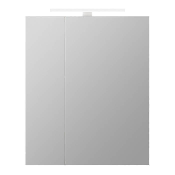 Фото Шкаф-зеркало 50 см двухдверный, IDDIS Mirro MIR5002i99 1