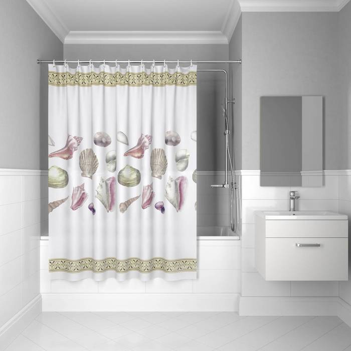 Фото Штора для ванной комнаты, 180x180 см PEVA, IDDIS Promo P28PV11i11 0