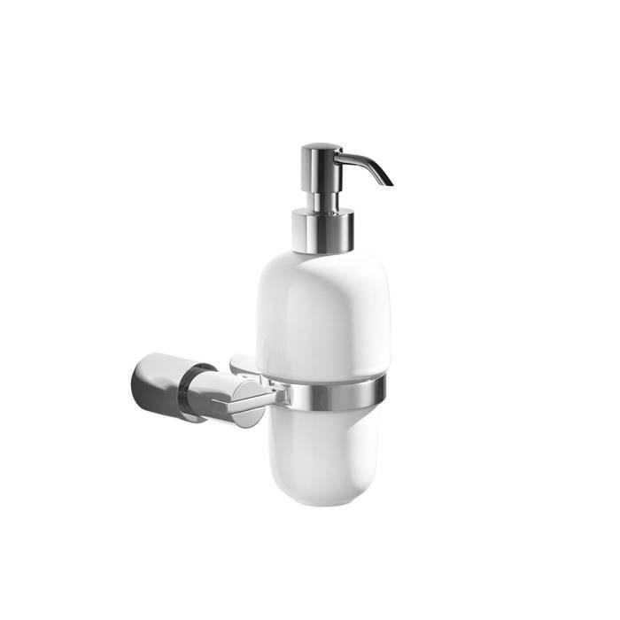 Фото Дозатор для жидкого мыла, латунь, керамика, IDDIS Monet MONSBC0i46 0