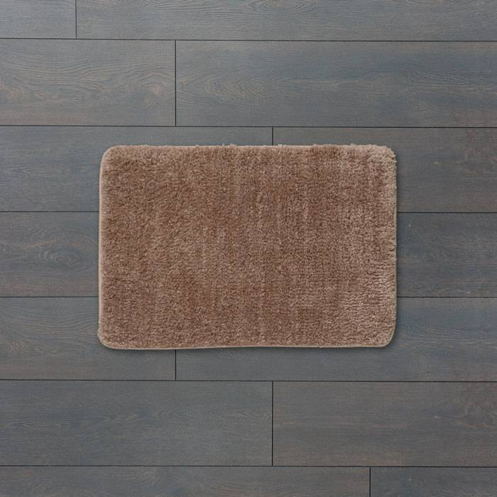 Фото Коврик для ванной комнаты, 45x65 см, микрофибра, IDDIS Basic B05M465i12 1