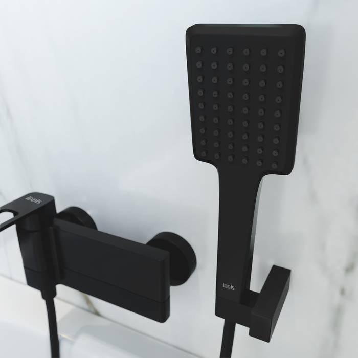 Фото Смеситель для ванны IDDIS Slide SLIBL00i02, черный 3