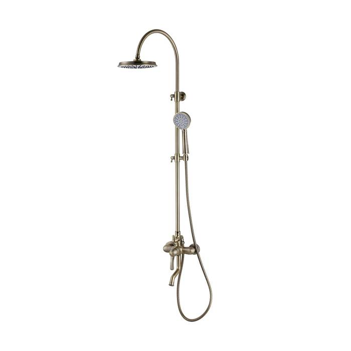 Фото Смеситель для ванны с верхним душем, IDDIS Oldie OLDBR3Fi06 0