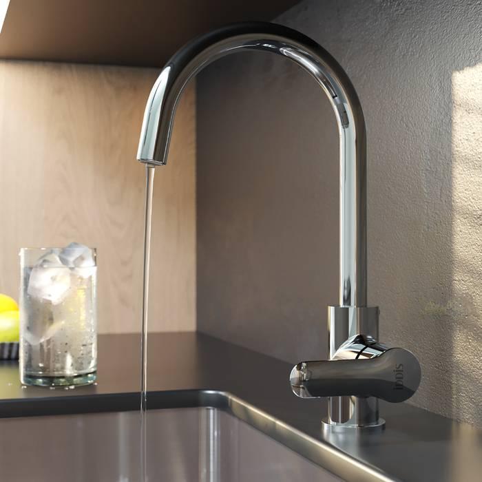 Фото Смеситель для кухни с каналом для фильтрованной воды, IDDIS Cuba CUBSBFJi05 2