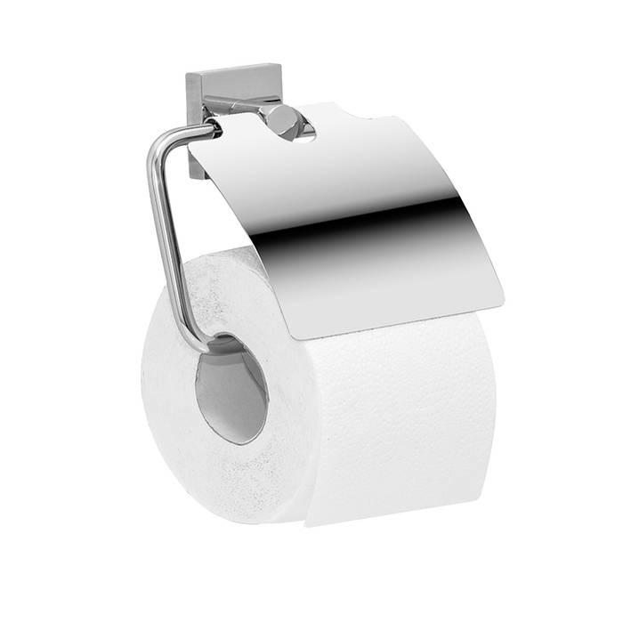 Фото Держатель для туалетной бумаги с крышкой, латунь, IDDIS Edifice EDISBC0i43 0