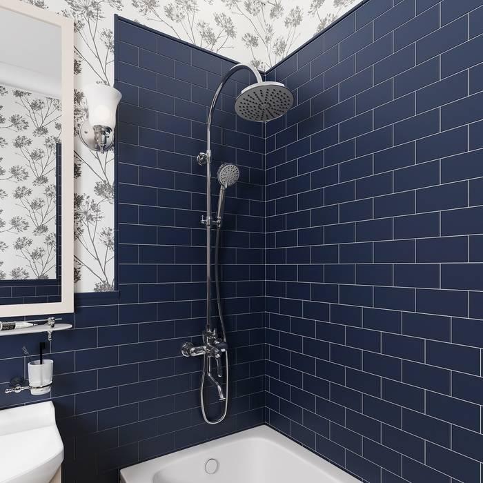 Фото Смеситель для ванны с верхним душем, IDDIS Oldie OLDSB3Fi06 1
