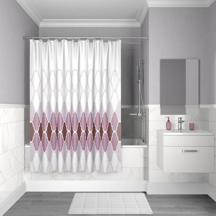 Фото Штора для ванной комнаты, 200x180 см полиэстер, IDDIS Décor D06P218i11 0