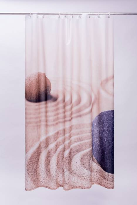 Фото Штора для ванной комнаты, 180x200 см, полиэстер, IDDIS 640P18Ri11 1
