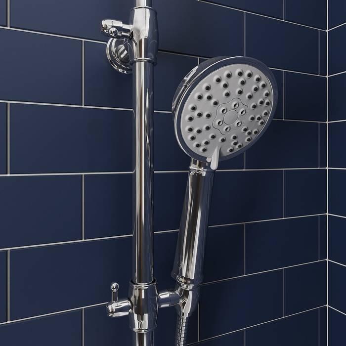 Фото Смеситель для ванны с верхним душем, IDDIS Oldie OLDSB3Fi06 4