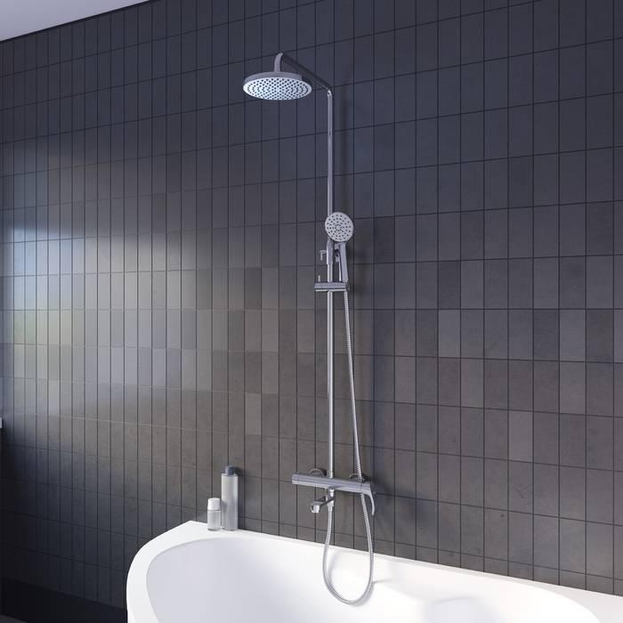 Фото Смеситель с верхним душем, IDDIS Joker JOKSB1Fi06 1